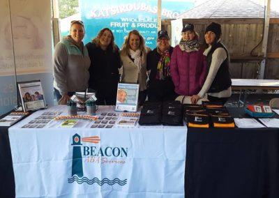Beacon ABA Services Booth - Autism Speaks Walk